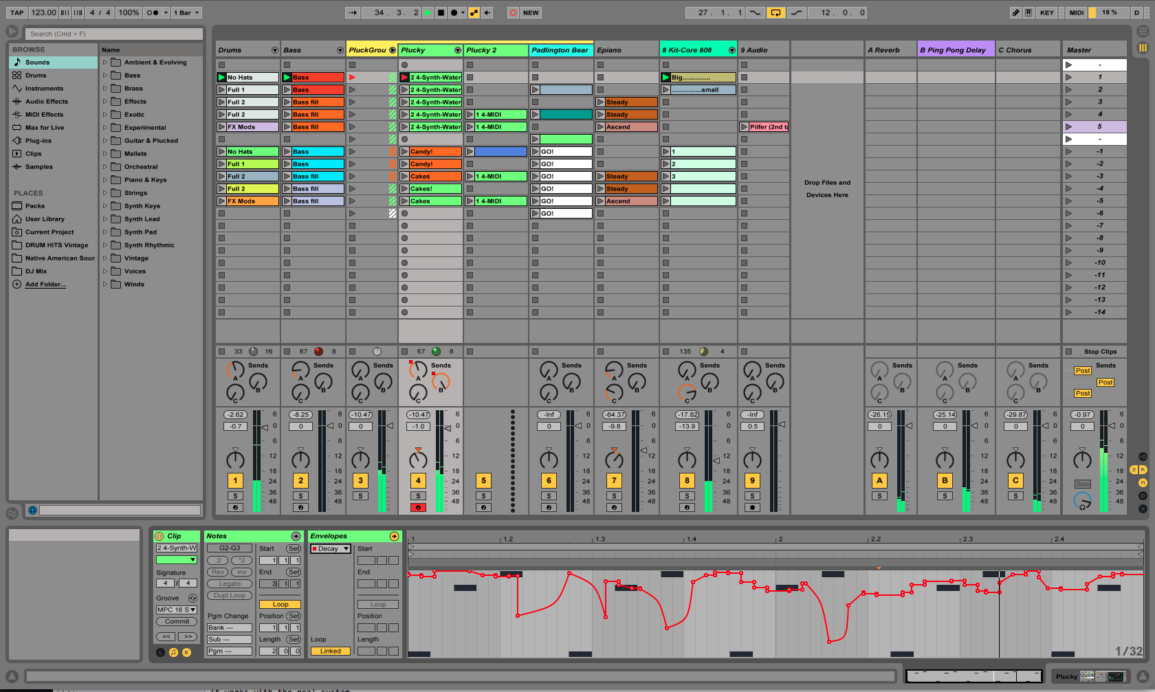 choosing a daw: ableton live