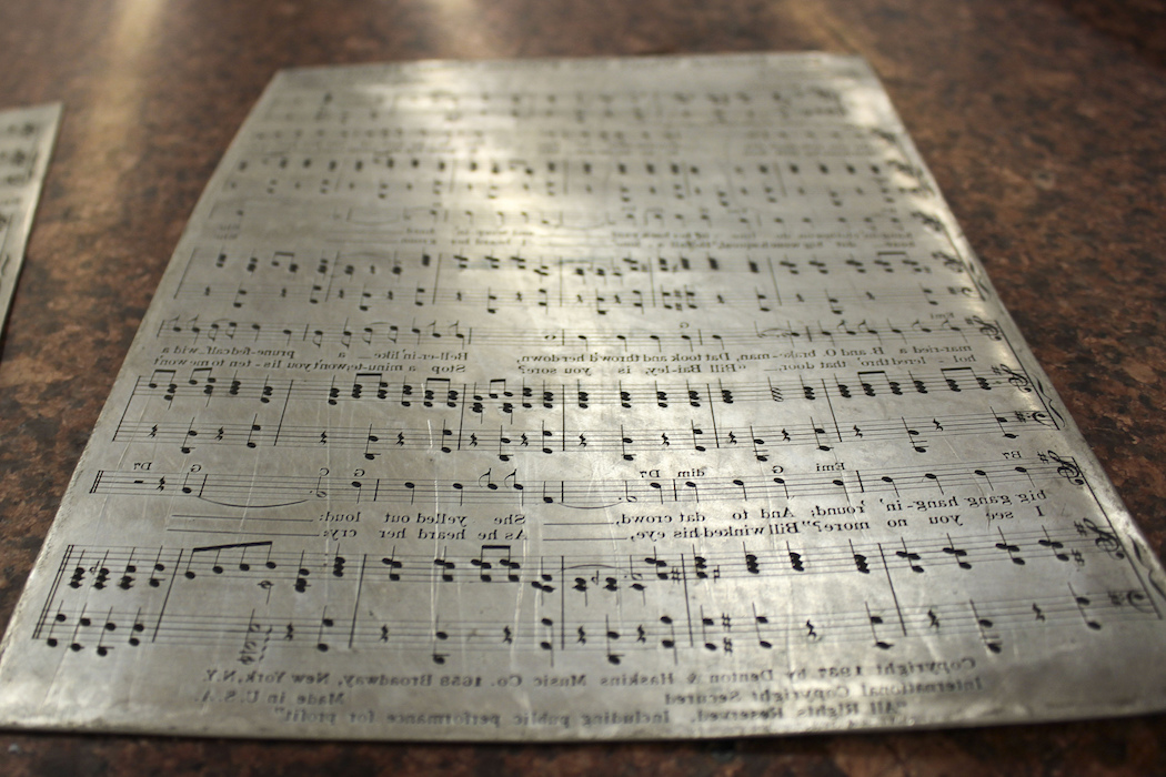 music engraving