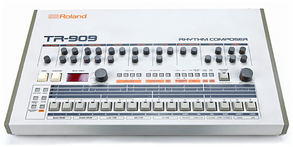 Roland TR-909 drum machine
