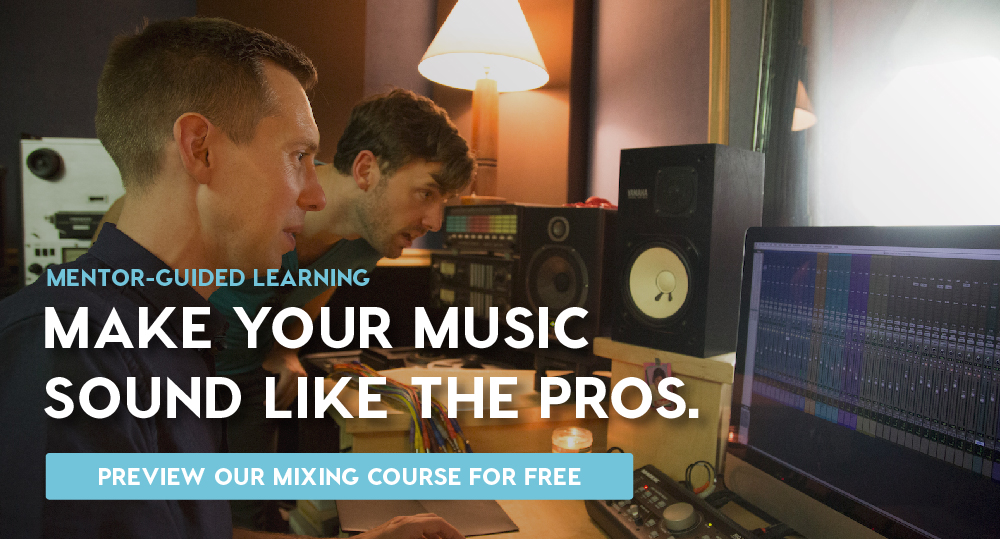 Preview our mixing course for free.